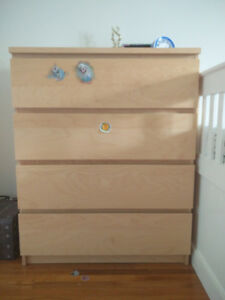 Four Drawer Dresser for Sale