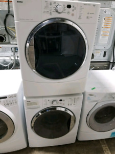 KENMORE & WHIRLPOOL MIDSIZE WASHER & DRYER SETS