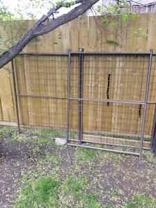 Steel Dog fence