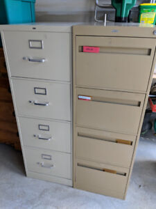 Filing cabinet - 2 available