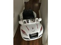 Audi battery charged ride-on toy car - spare or repaid