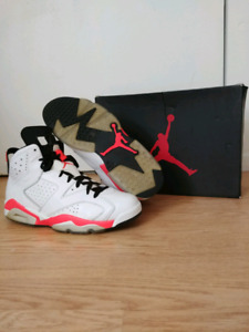 premium selection ce15d 39a52 Nike Air Jordan Retro 6 Infrared White NEED GONE ASAP  230 OBO