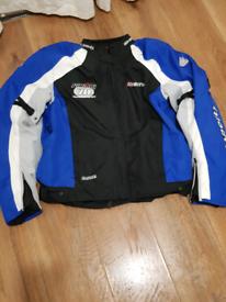 Heingericke Sheltex Hiprotec all weather motorcycle jacket size xxl