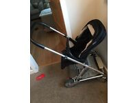 Mammas and Pappas Urbo Black Pram