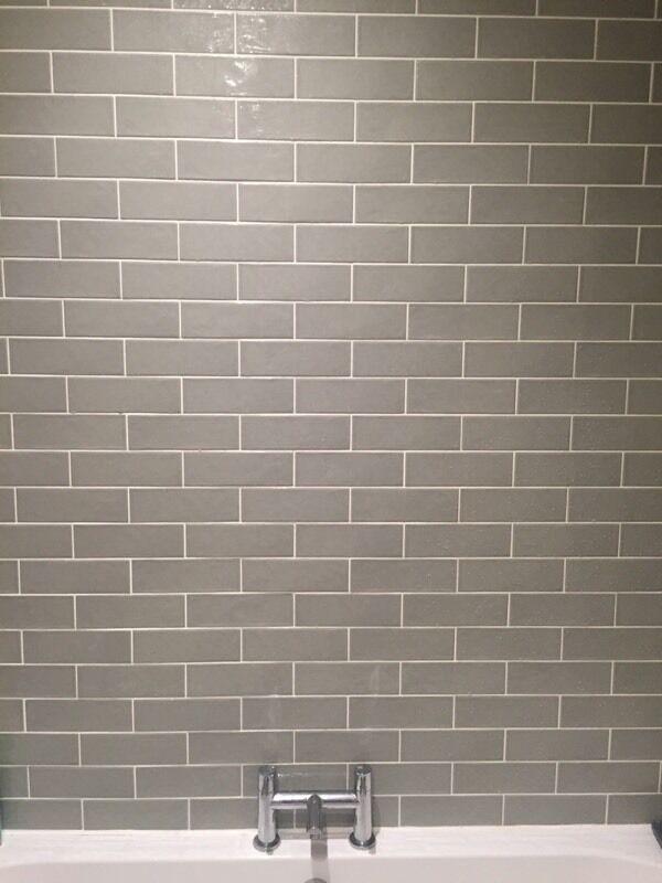 Contemporary Metro Brick Tiles. Mist Green