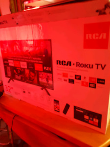 "BRAND NEW IN THE BOX 32"" RCA ROKU LCD SMART TV"