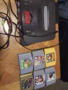N64 and six games