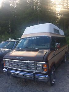 Dodge Raised Roof Travel Van