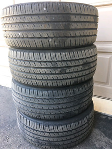 225/45-R18 Michelin Tires Set