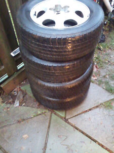 For Sale 2 brand new Motomaster AW2 & 2 goodyear tigerpaw tires London Ontario image 1