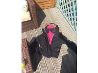 Superdry wind cheetah jacket Large