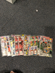 Large the almighty Thor 64 comic lot