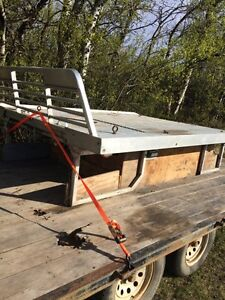 Aluminum Sled Deck for Long Box Truck. 8'Wide