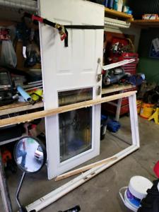 """34"""" exterior steel door"""