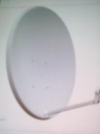 Sattelite remote control dish