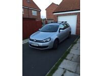 Vw golf estate 2.0l tdi