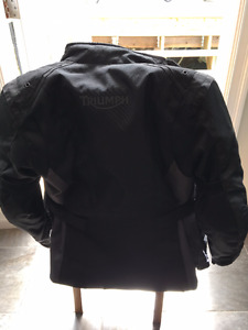 Ladies Triumph XS motorcycle Jacket