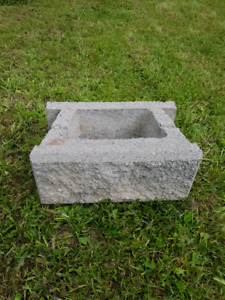 Cinder Blocks for Retaining Wall