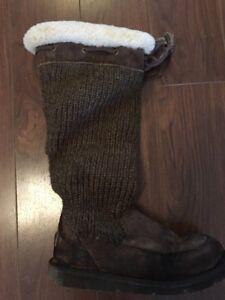 Authentic UGG Australia Crochet boot