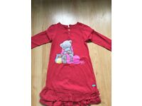 Me 2 you red dress age 6-7