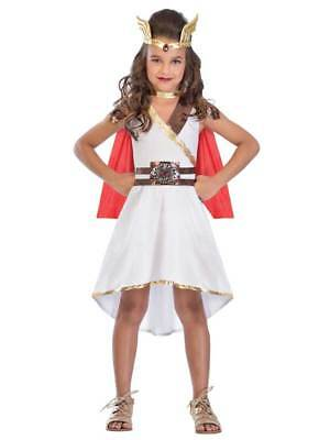 Children's She Ra Costume (Girls Goddess Princess Fancy Dress Costume Roman She-Ra Greek Book Day)