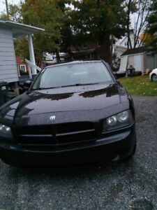2006 Dodge Charger noir Berline
