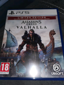 Assassin's Creed Valhalla Ps5 limited edition