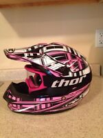 HJC helmet girls M with Thor goggles
