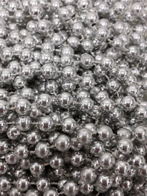 SILVER BEADS (OVER 1000CM LONG) NEW