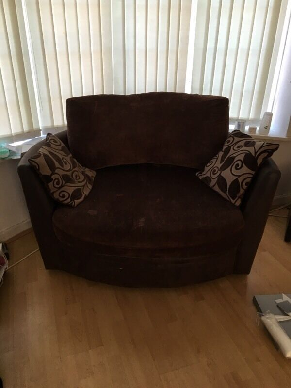 Swivel armchair for sale £100 Ono | in Swansea | Gumtree