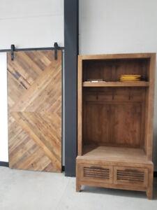 Modern Rustic Furniture - Solid Wood - Entryway Storage Unit