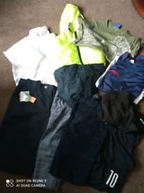 Boys clothes bundle age 10-11 shorts, cords,t-shirt,jacket, school sho