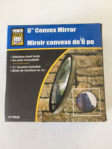 6 inch Concav Mirror Power Fist New