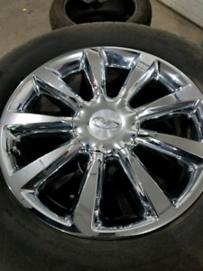 Like new oem infinity qx56 rims and 275/60r20