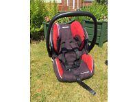 Recaro car seat with isofix base