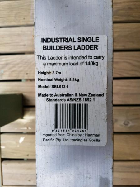 Gorilla ladder for sale | Ladders & Scaffolding | Gumtree Australia