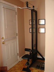 High Low Pulley Weight Stack Exercise Lat Machine + Extras