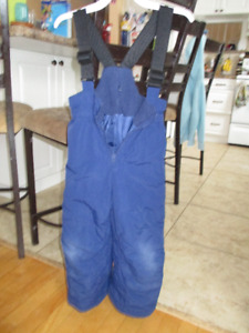 Blue size 4 snowpants
