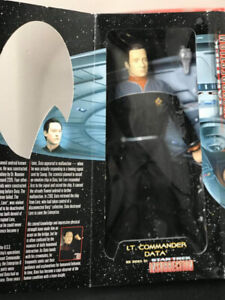 "Playmates 12"" Special Collector's Edition Star Trek Lt. Command"