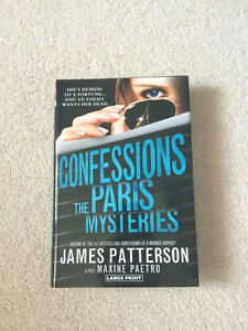 CONFESSIONS THE PARIS MYSTERIES - JAMES PATTERSON