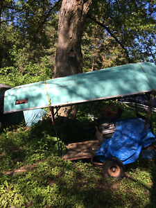 EXTRA WIDE 12FT ALUMINUM BOAT NO LEAKS