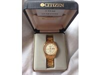 CITIZEN VINTAGE GOLD PLATED AUTOMATIC WATCH