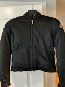 Rocket Girl XS Motorcycle Jacket Black / Manteau de Moto Noir