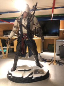 ATTAKUS Life Size Assassin's Creed 3 Connor Statue (6.75′ FEET)