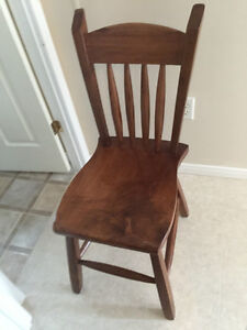 REDUCED - 2 matching Teak Dining Chairs