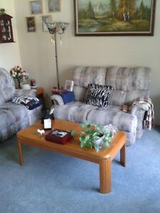 Recliner love seat and recliner couch !!