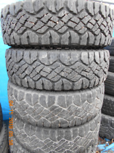 GREAT QUALITY GOODYEAR WRANGLER DURATRAC TIRES ON SALE NOW!