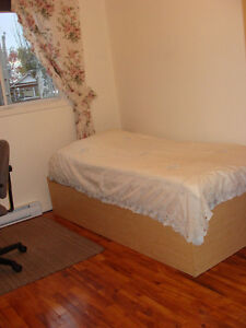 Nice clean room. Lasalle.$130/week. Available May 7.