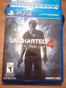 Uncharted 4 for PlayStation 4