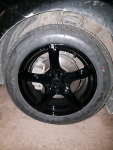 """16 Inch Fast """"Jet"""" Alloy Wheels, and Uniroyal Tires Like New"""